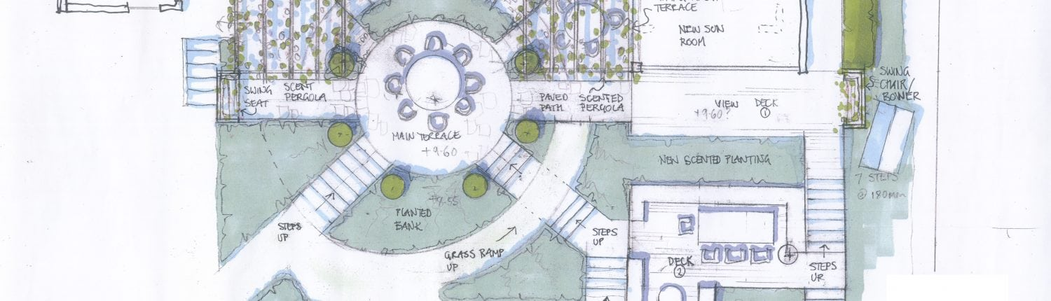 The Landscape Design for Torton Hill