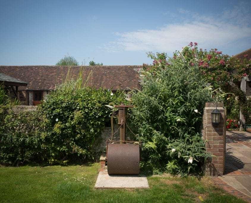 Photo of Fragrant Summer Courtyard Garden in Sussex