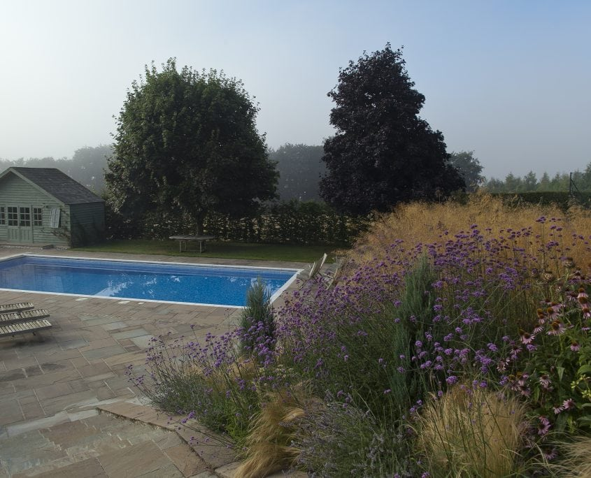 Photo of Pool Garden South Downs East Sussex