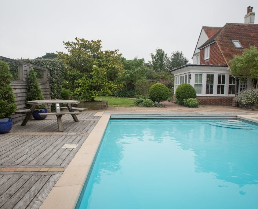Photo of Country Garden with Pool and Poolhouse East Sussex