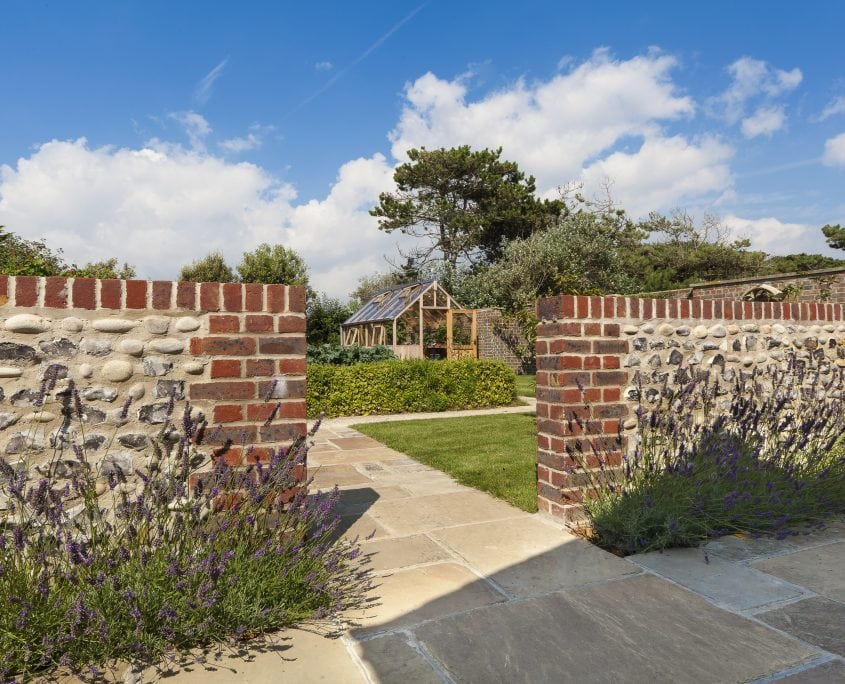 Photo of west sussex contemporary coastal garden design