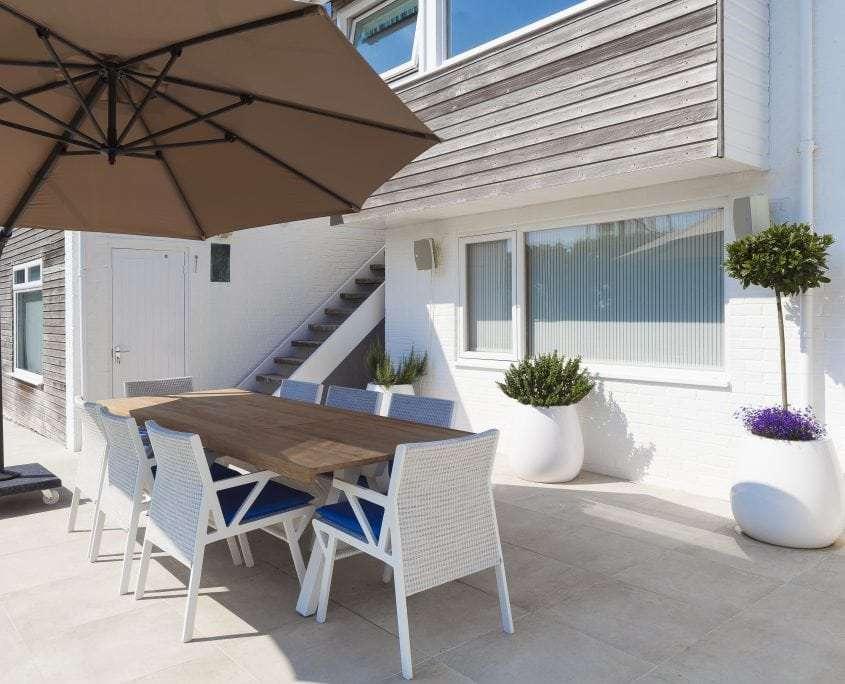 Photo of west sussex contemporary coastal garden design