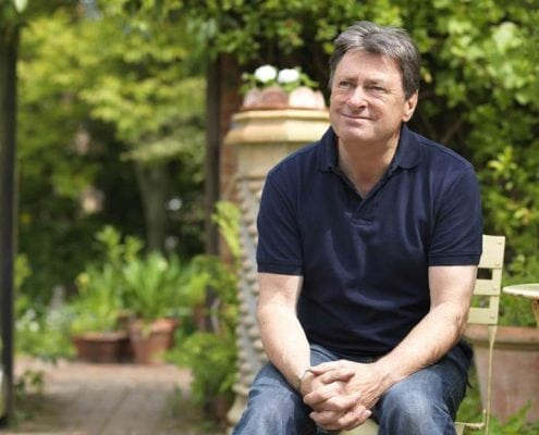 Photo of Alan Titchmarsh presenter of ITV's gardening show Love You Garden